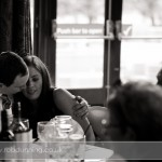 Bartley Lodge Wedding - Wedding Photojournalism - guests enjoying a moment