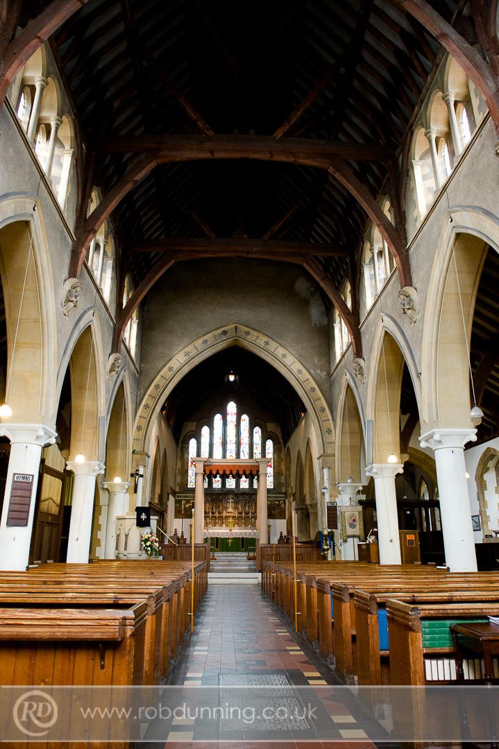 Inside at Millbrook Trinity Church, Southampton