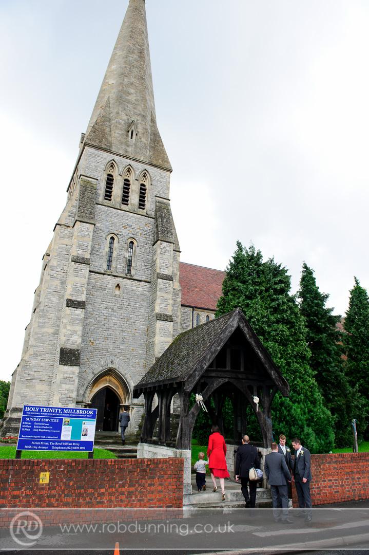 The Lych-Gate Holy Trinity Church, Southampton