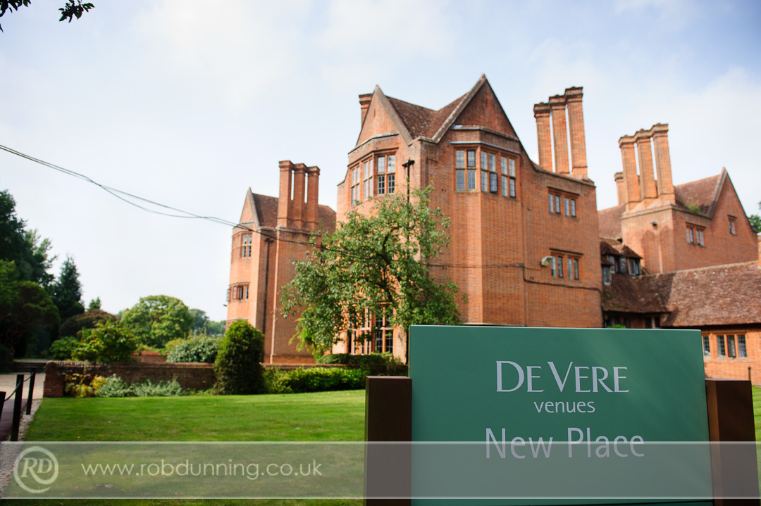 New Place Wedding Photography - The manor house.