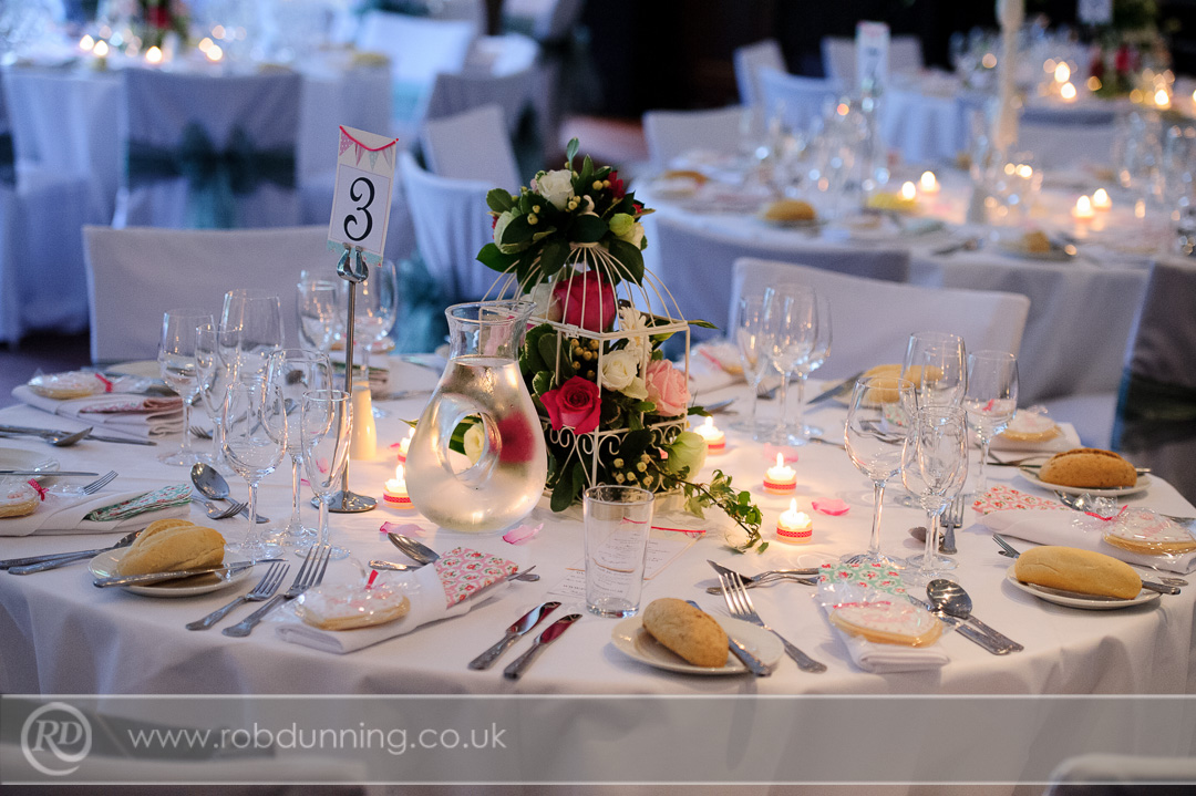 Ivory and pastel pink wedding theme in the Arden Suite Southampton Wedding Photographer