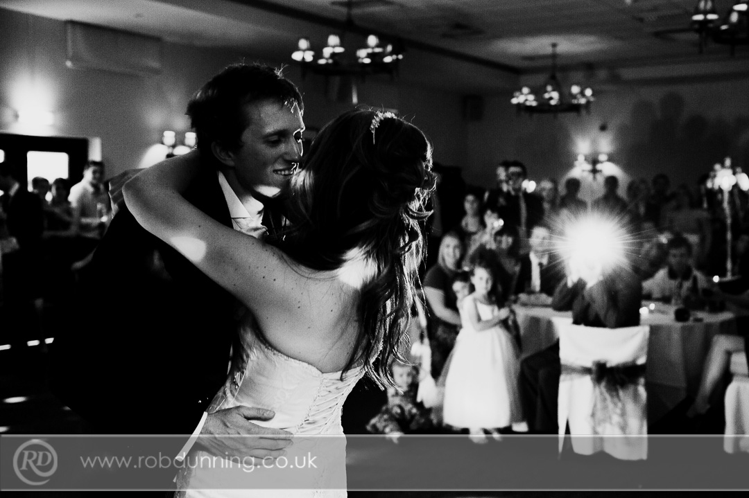 First Dance in the Arden Suite Southampton Wedding Photographer