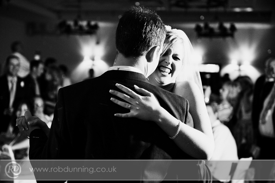 First Dance in the Arden Suite New Place wedding photography