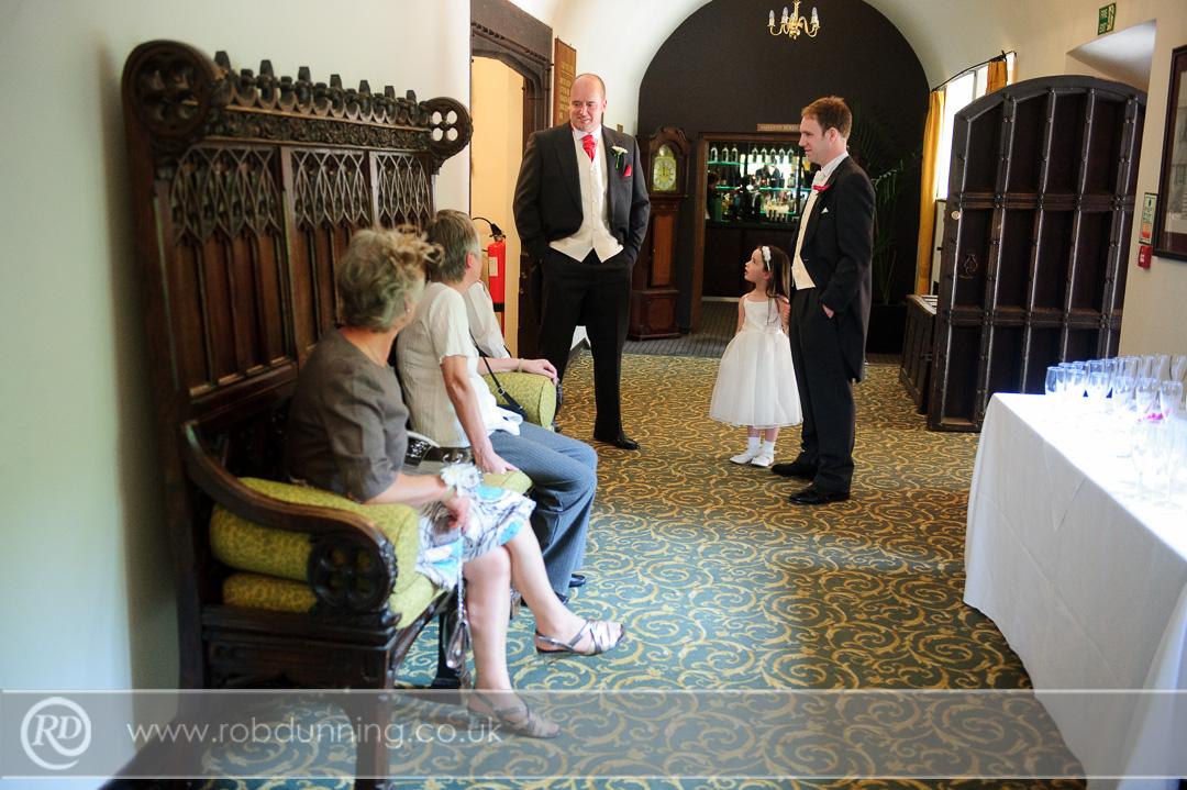 The entrance hall to the Bristol Room - Southampton Wedding Photographer