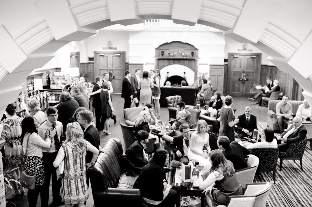 The main hall at Chilworth Manor Southampton