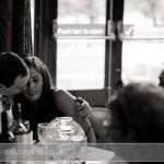 Bartley Lodge Wedding - Wedding Photojournalism - guests enjoying a moment